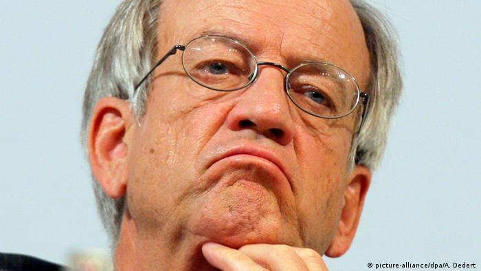 Griechenland Prozess gegen Siemens-Manager | Heinrich von Pierer (picture-alliance/dpa/A. Dedert )