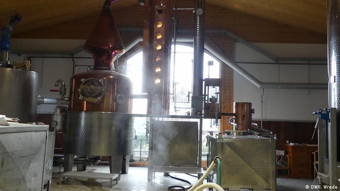 Destillerie Habbel in Sprockhövel (DW/I. Wrede)
