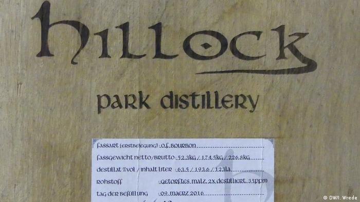 Hillock label (DW/I. Wrede)