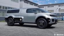 Neuron EV T-One modular electric utility vehicle (EUV)