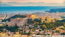 Griechenland | Stadtansicht Athen mit Akropolis