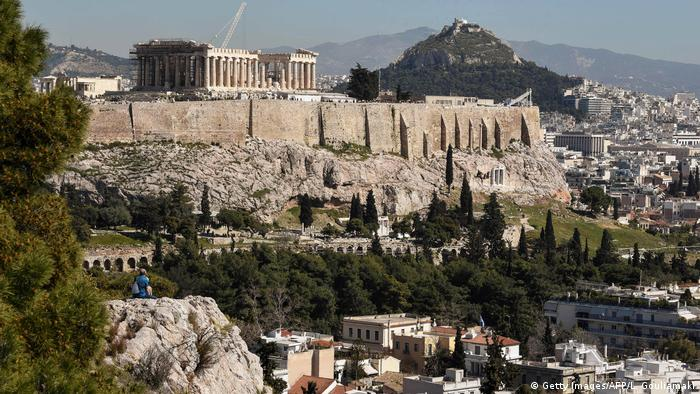 Athens, Greece. A picture of the Acropolis|