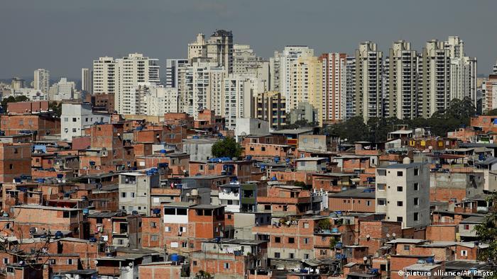 Comunidade de Paraisópolis, na zona sul de São Paulo
