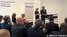 Berlin Diamantino Pedro Azevedo, Minister für Bodenschätze und Erdöl Angola