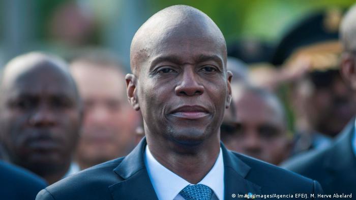Haiti Präsident of Jovenel Moise
