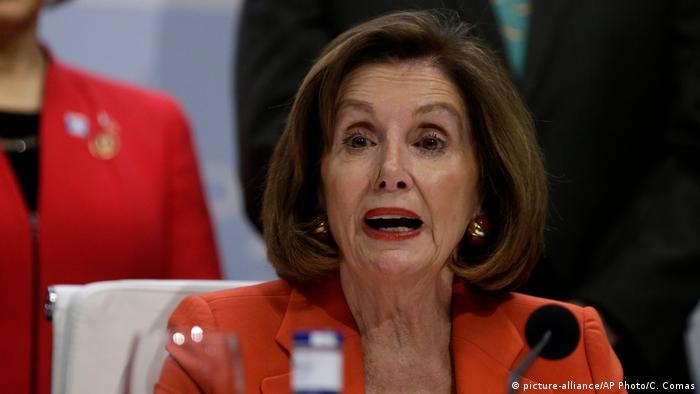 Nancy Pelosi (picture-alliance/AP Photo/C. Comas)