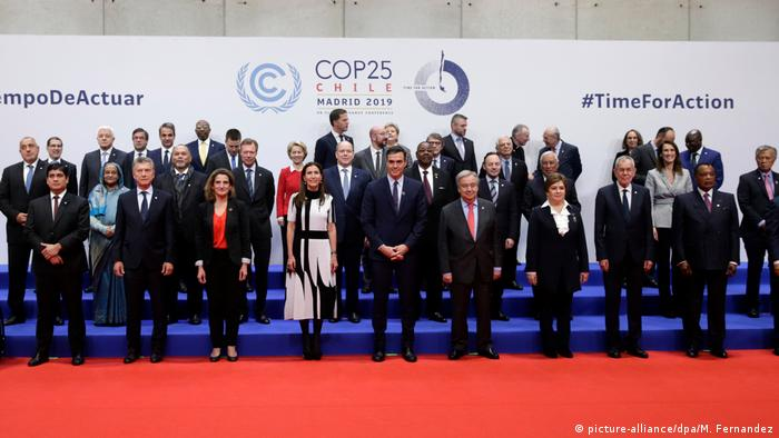 COP25 25. UN-Klimakonferenz in Madrid (picture-alliance/dpa/M. Fernandez)