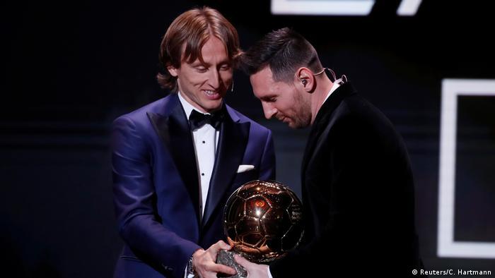 Fußball Ballon d'Or 2019 | Lionel Messi und Luka Modric