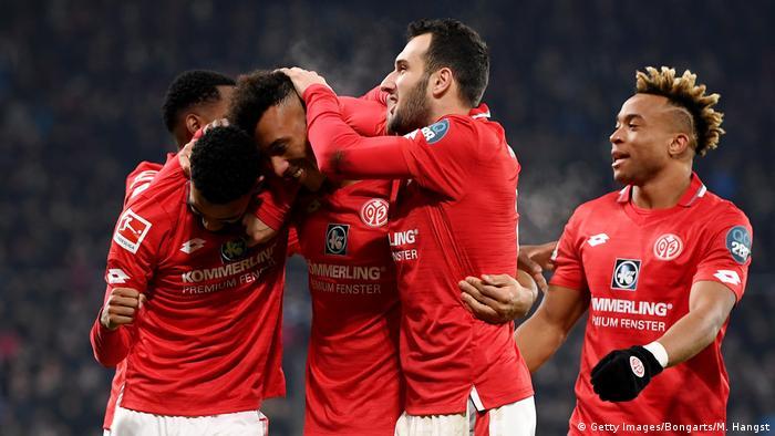 1. Bundesliga   1. FSV Mainz 05 vs Eintracht Frankfurt   Torjubel (1:1) (Getty Images/Bongarts/M. Hangst)