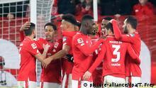 1. Bundesliga | 1. FSV Mainz 05 vs Eintracht Frankfurt | Torjubel (2:1)
