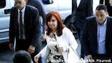 Designierte Vizepräsidentin von Argentinien vor Gericht