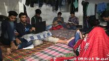 Due to seat crisis, students of Bangladesh's Dhaka University live in so-called 'Gono rooms' (mass rooms) in different residential hotels. Keywords: Dhaka University, students, Gono rooms, Bangladesh, hall Copyright: Harun Ur Rashid Swapan