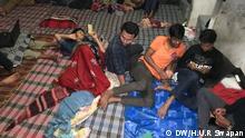Bangladesch Platzmangel für Studenten Gono rooms