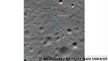 Mond Absturzstelle Vikram Lander aus Indien