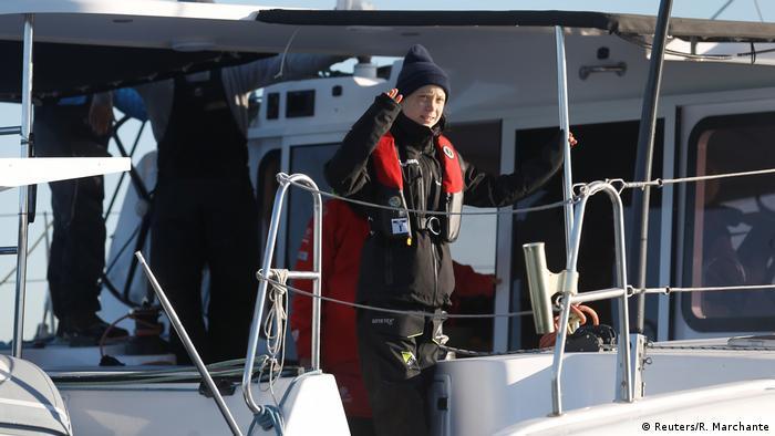 Greta Thunberg in Lisbon