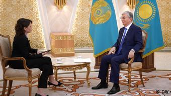 Nemtsova Interview mit Qassym-Schomart Toqajew