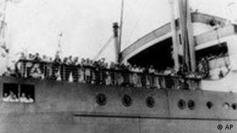 Deutsche Juden auf der Flucht aus Nazideutschland 1939