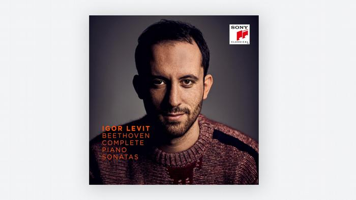 CD-Cover Igor Levit Beethoven Complete Piano Sonatas