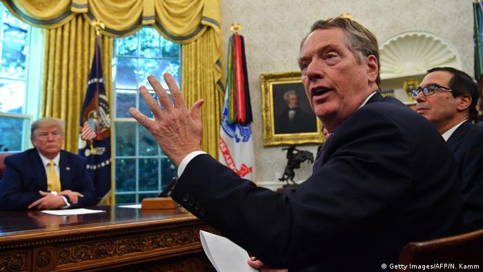 USA-China-Handel | US-Handelsbeauftragter Robert Lighthizer (Getty Images/AFP/N. Kamm)