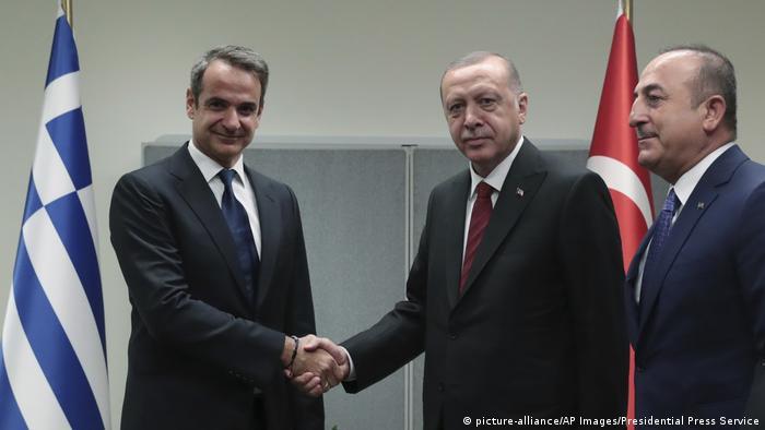 New York UN Generalversammlung Treffen Mitsotakis Erdogan