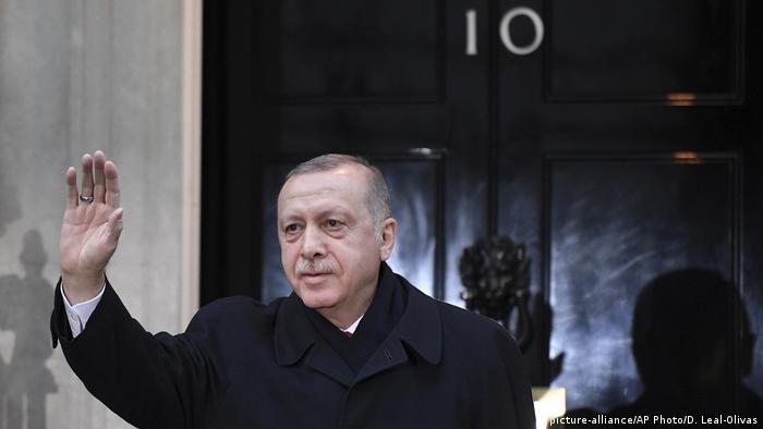 Erdogan u Londonu