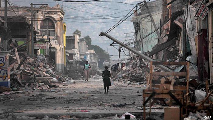 Haiti Erdbeben Opfer Flash-Galerie