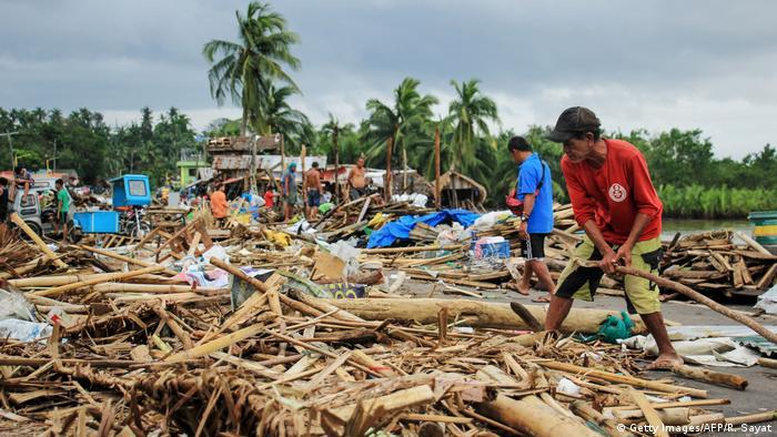 Philippinen Taifun Kammuri