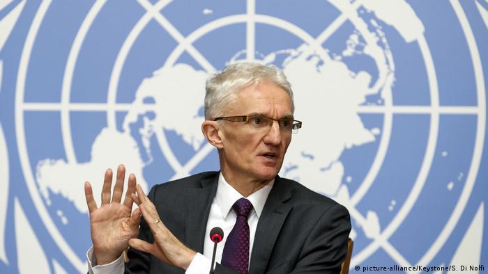 Schweiz | UN-Nothilfekoordinator Mark Lowcock | Klimawandel | Migration