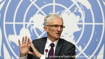 Schweiz   UN-Nothilfekoordinator Mark Lowcock   Klimawandel   Migration