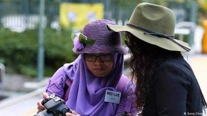 Hongkong | Indonesische Arbeiterin Yuli Riswati