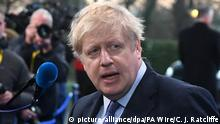England NATO Gipfel in London | Boris Johnson