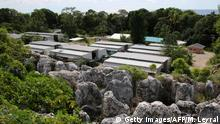 Australien Flüchtlingspolitik l Flüchtlingslaer auf der Insel Nauru