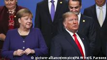 UK NATO-Treffen in London l Angela Merkel und Donald Trump