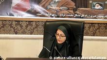 Iran   Qods Bürgermeisterin Leila Vaseghi