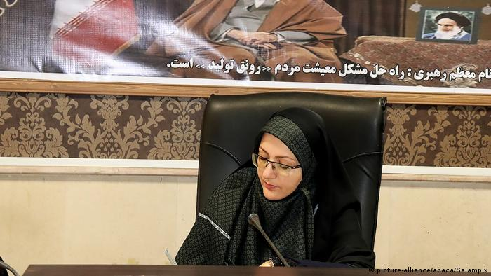 Iran | Qods Bürgermeisterin Leila Vaseghi (picture-alliance/abaca/Salampix)