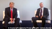 UK NATO-Treffen in London l Donald Trump und Recep Tayyip Erdogan