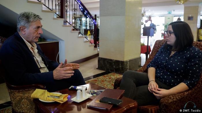 SteliosKoulogou and Marianna Karakoulaki in Valletta, Malta
