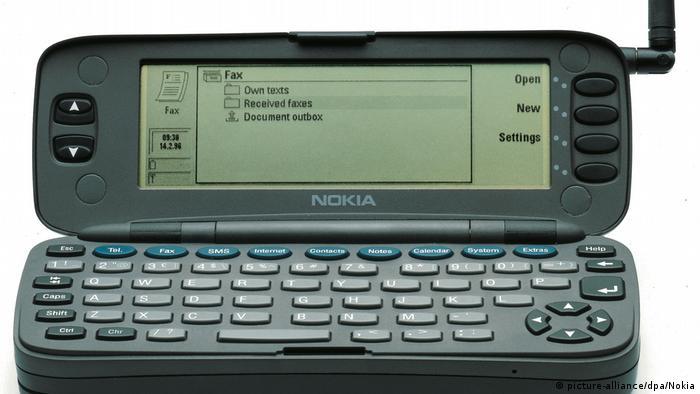 El Nokia Communicator 9000 fue el primer smartphone de la historia