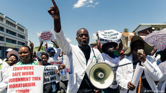 Simbabwe Streik der Ärzte (Dezember 2019)