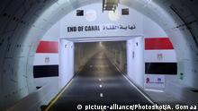 Ägypten Tunnel unter Suezkanal in Ismailia