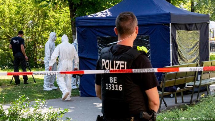 Mord an Georgier in Berlin (picture-alliance/dpa/C. Soeder)