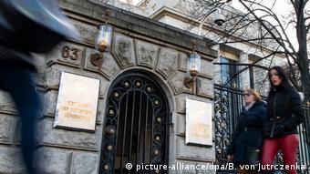 Πρεσβεία, Ρωσία, Βερολίνο