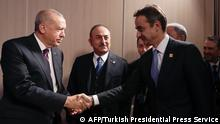 London Nato-Treffen Erdogan Mitsotakis