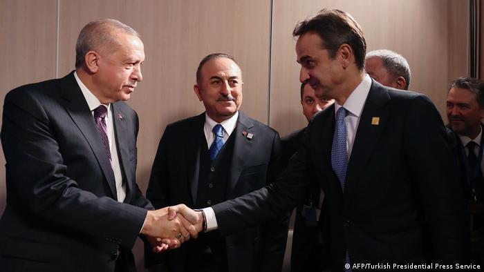 Miçotakis′ten Erdoğan ile görüşme sonrası açıklama: Anlaşmazlıklar kaydedildi | Avrupa | DW | 04.12.2019