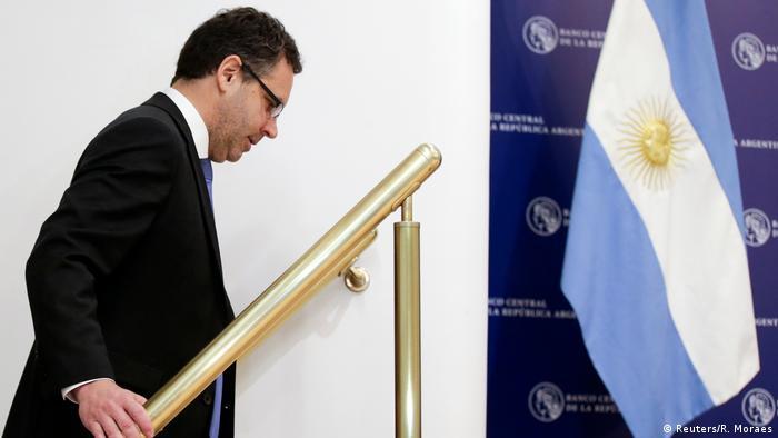 Argentinien Zentralbankchef Guido Sandleris tritt zurück (Reuters/R. Moraes)