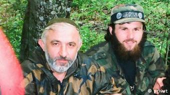 Аслан Масхадов и Зелимхан Хангошвили (фото из архива)