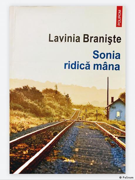 """Buchcover von """"Sonia erhebt die Hand"""" (Polirom-Verlag)"""