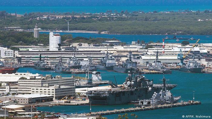 USA Militärbasis Pearl Harbor-Hickam