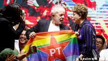 Kongress der Arbeiterpartei in Brasilien | Dilma Rousseff und Lula da Silva