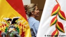 Bolivien Übergangspräsidentin Jeanine Anez La Paz